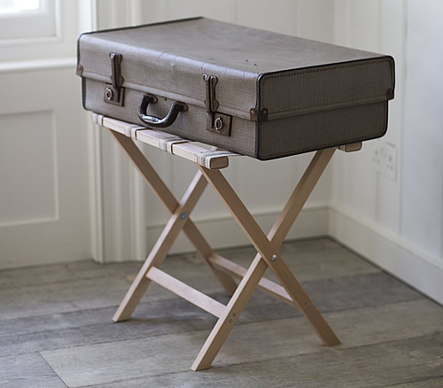 Suitcase / Luggage Rack - Wooden
