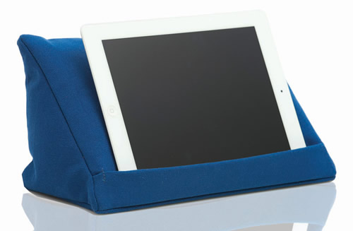Cushioned tablet stand