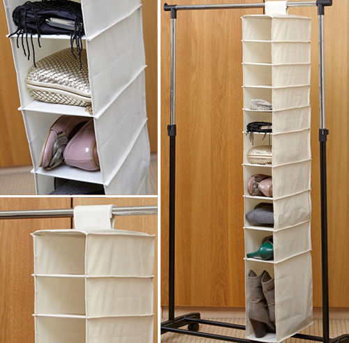 Hanging Shoe & Boot Organiser