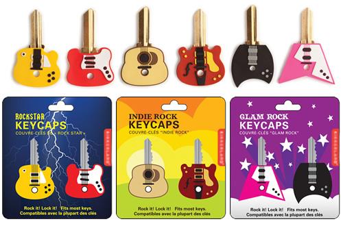Guitar Shaped Key Caps - Set of 2