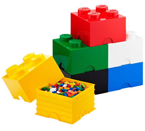 Giant LEGO storage block bundle - Medium bricks