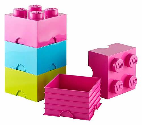 Giant LEGO Storage Blocks - Brights Medium Block Bundle