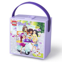 LEGO Friends Lunch Box with Carry Handle