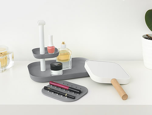 Cosmetics Organiser Detachable Mirror Vana Bathroom Vanity