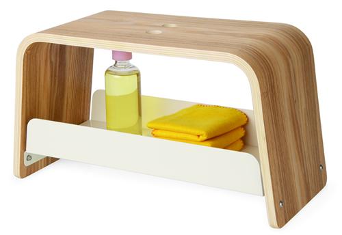 Ashwood step up storage stool