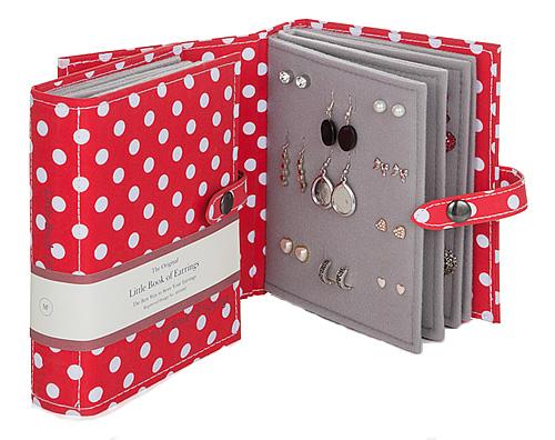 Earring Storage Book - Make-up Storage | Jewellery Storage | Jewellery ...