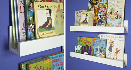 2 x Kids Gallery Bookshelves