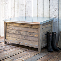 Wooden Garden Chest - Large