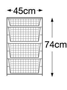 Elfa basket tower