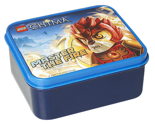 Vintage LEGO Chima Lunch Box - Fire & Ice
