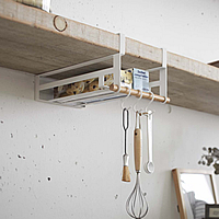Under Shelf Storage Rack - Scandi