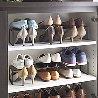 In-Cupboard Extending Shoe Rack