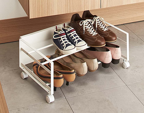Underbed Shoe Storage Rack