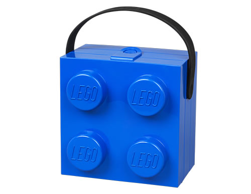 LEGO lunch box with carry handle / LEGO Handbag