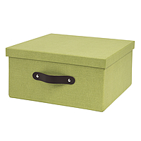 Small Fibreboard Box for Handbridge Cube - Green