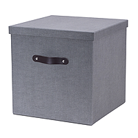 Large Fibreboard Box For Handbridge Cube - Grey