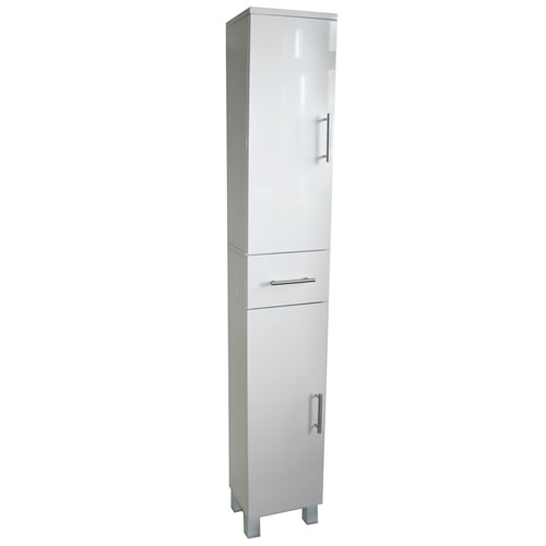 gloss slimline bathroom tallboy bathroom storage cabinets bathroom