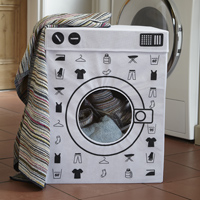 Washing Machine Laundry Bin