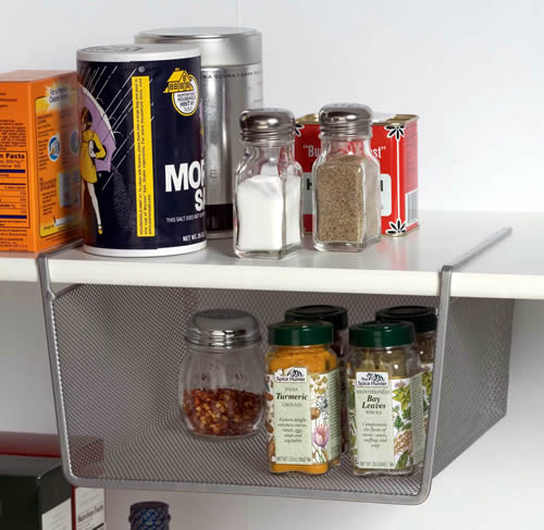 Mesh Under Shelf Basket Design Ideas Mesh Amp Metal