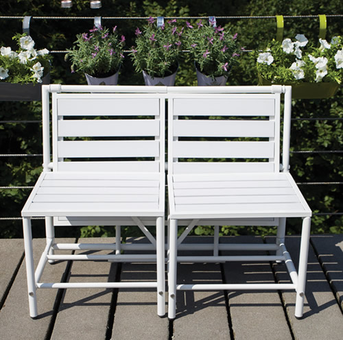 Compact Converting Bench & Table Set - MyBalconia
