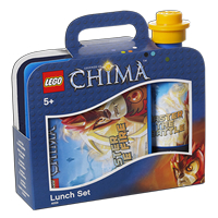 Vintage LEGO Chima Lunch Set - Fire & Ice