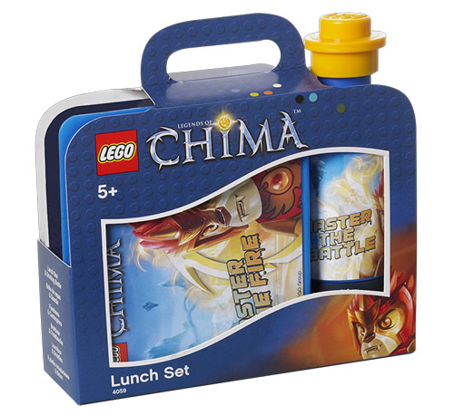 LEGO chima lunch box and bottle - Fire & ice