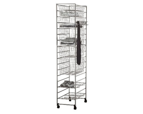 Free standing elfa drawer tower