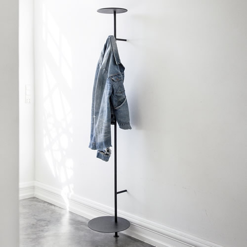 Powder coated steel coat stand by Menu