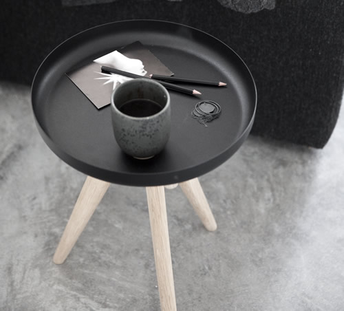 Flip Around stool in light ashwood
