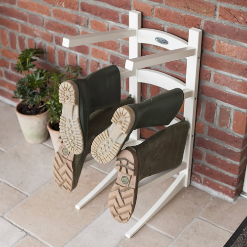 Floor Standing Wellington Boot Rack Fallen Fruits
