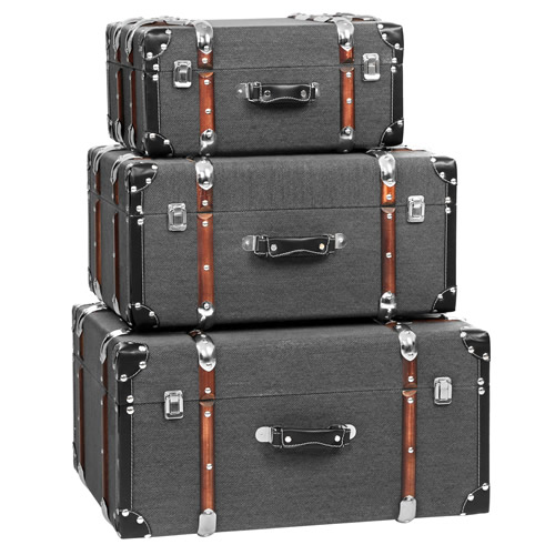 Set of 3 storage cases - Bergman