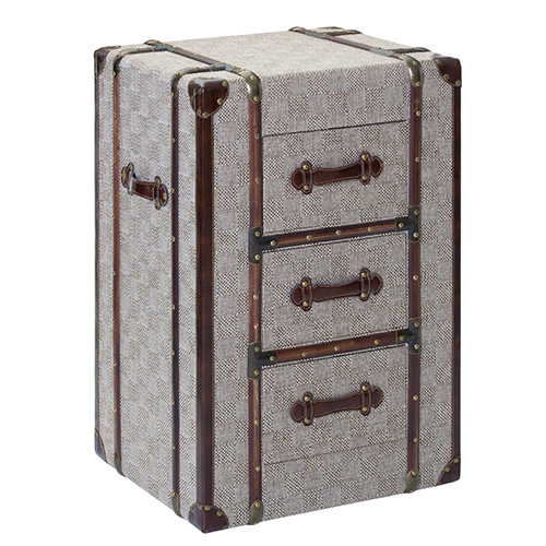 3 drawer storage chest - Winston