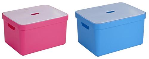 32 Ltr. Lidded Toy Storage Box - Sigma