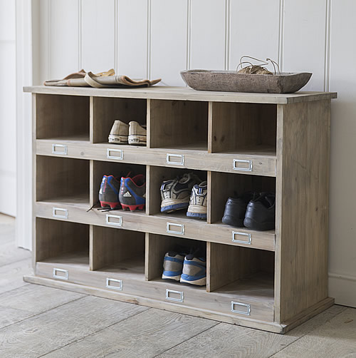Store Chedworth Shoe Locker 12 Cubbies