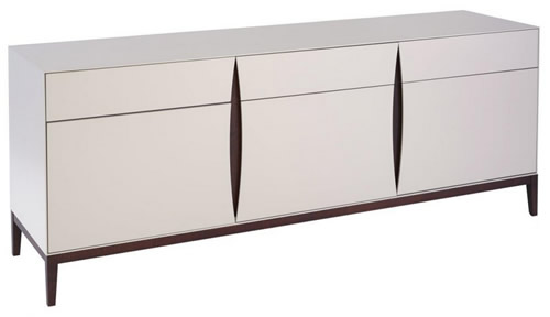 Lux sideboard with 4 drawers and 2 doors - Gillmore Space