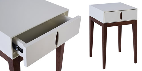 1 drawer side table - Lux Gillmore Space