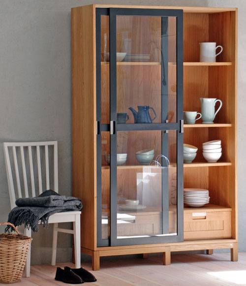 Sundre cabinet vitrine is similar to the Pinch Joyce cabinet