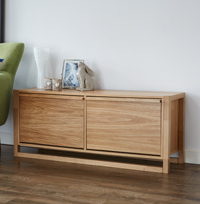 NewEst Shoe Storage Bench - Oak