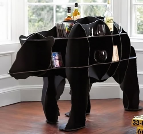 Bear shaped bookcase - Mobilier De Compagnie Junior Bear