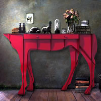 Racehorse Console Table