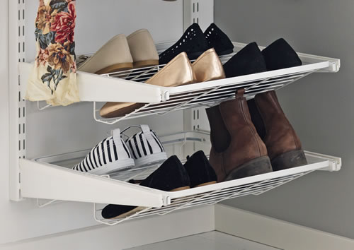 Elfa gliding shoe shelf 45cm wide
