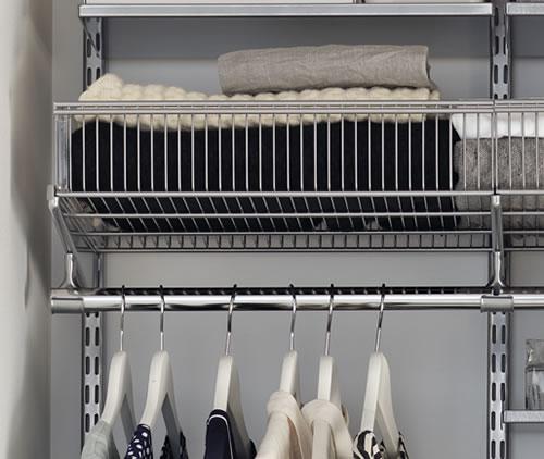 45cm wide elfa basket shelf