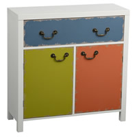 2 Door 1 Drawer Storage Cabinet - Alchemy