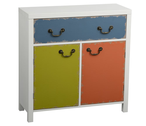 Storage cabinet with 2 doors and 1 drawer - Alchemy