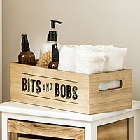 Wooden Bits & Bobs Storage Box - Tribeca