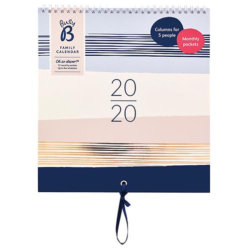 Family Organiser Calendar 2020