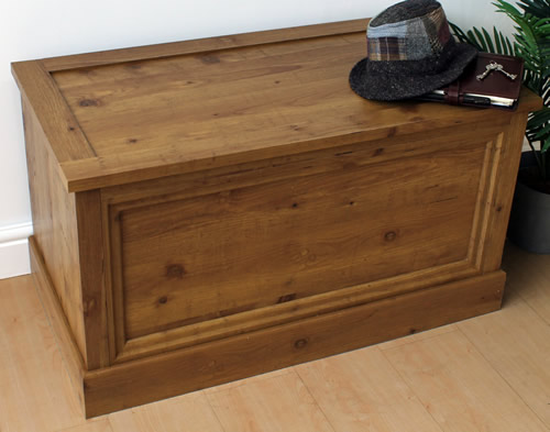 storage chest blanket box montana oak underbed