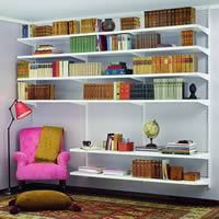 Elfa Book Shelving - Best Selling Solution II