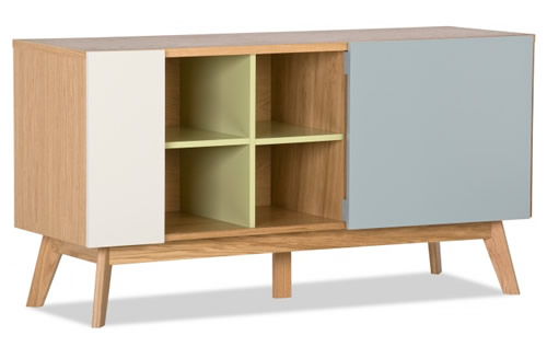 Chaser sideboard crafted from solid oak - Leonhard Pfeifer