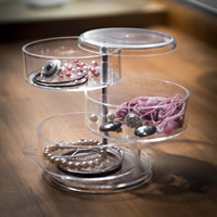 Swivel Acrylic Jewellery Store